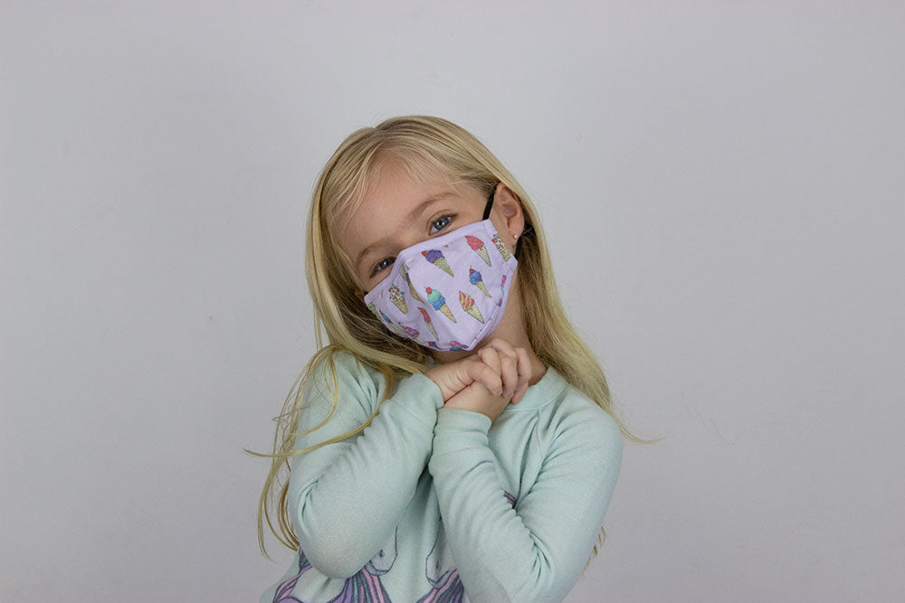 Kids Ice Cream Toss Mask
