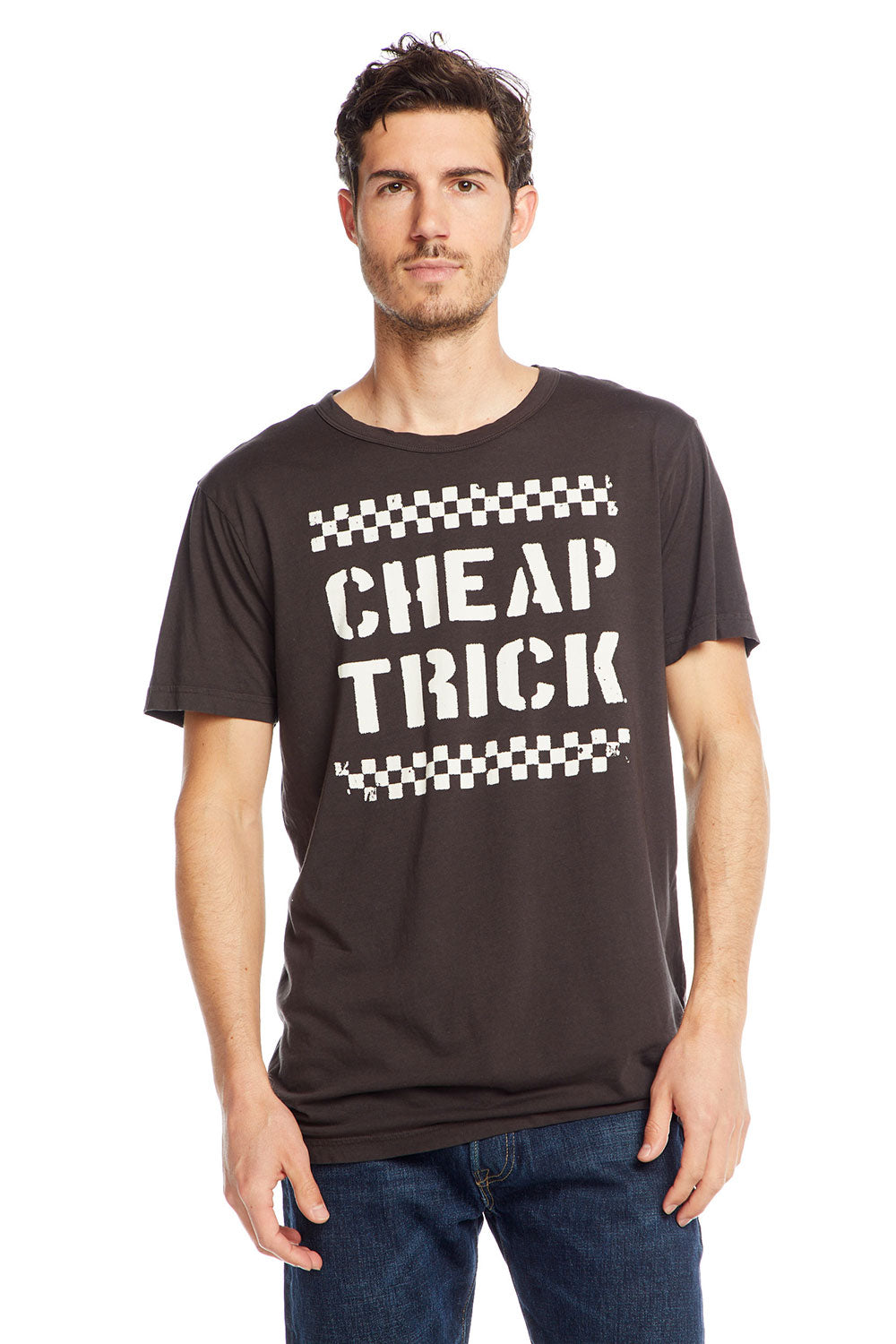Cheap Trick - Checkerboard MENS - chaserbrand