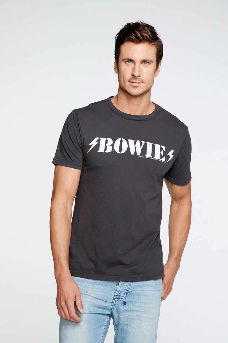 David Bowie - Grafitti  Crew Neck Tee MENS chaserbrand4.myshopify.com