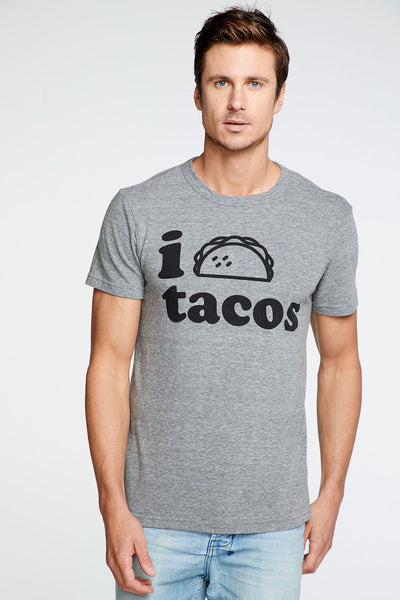I Love Tacos Crew Neck Tee MENS chaserbrand4.myshopify.com