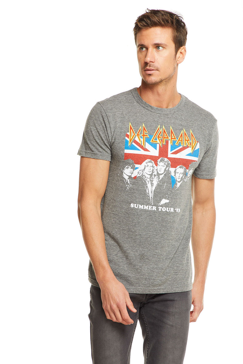 Def Leppard - Summer Tour '83, MENS, chaserbrand.com,chaser clothing,chaser apparel,chaser los angeles
