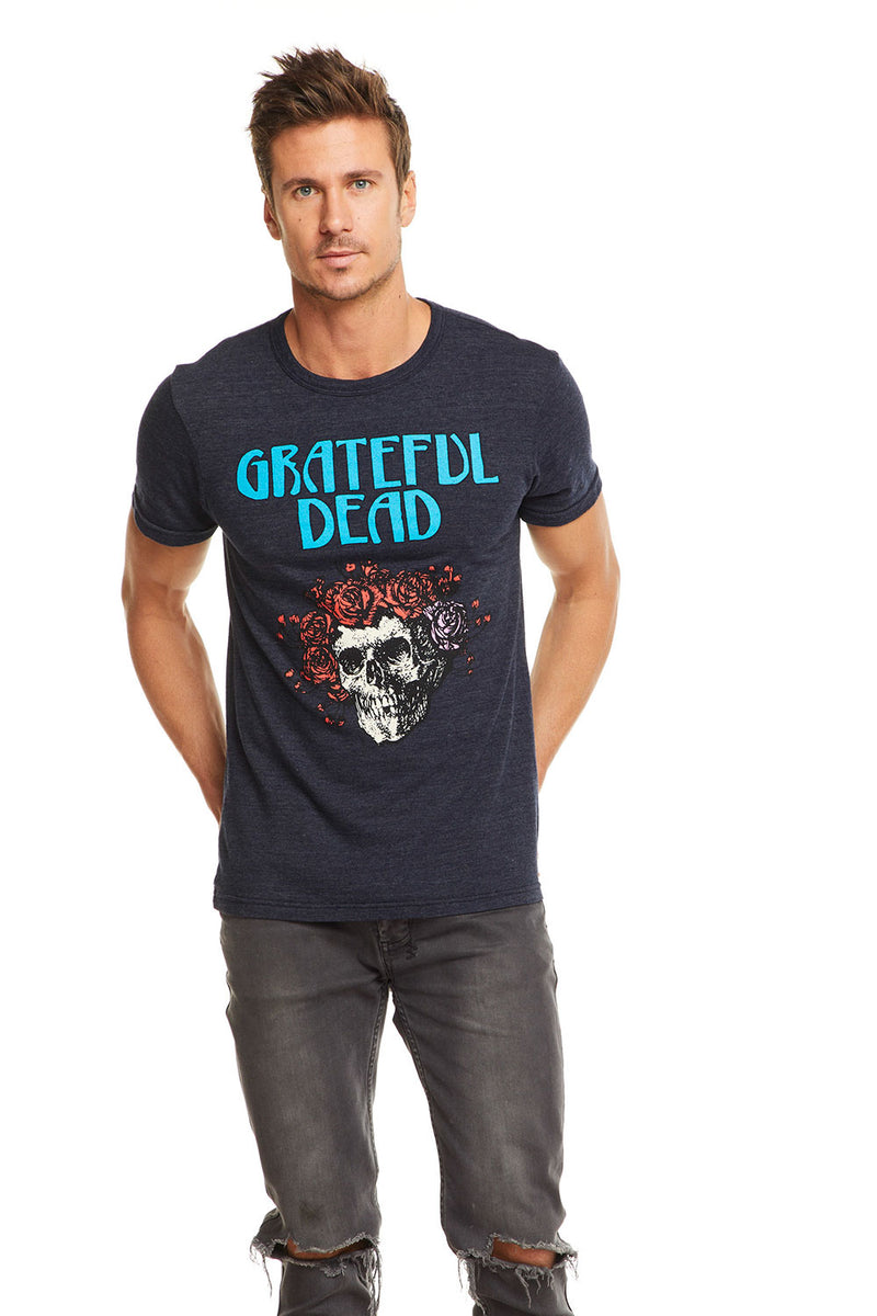 Grateful Dead - Skull & Roses, MENS, chaserbrand.com,chaser clothing,chaser apparel,chaser los angeles