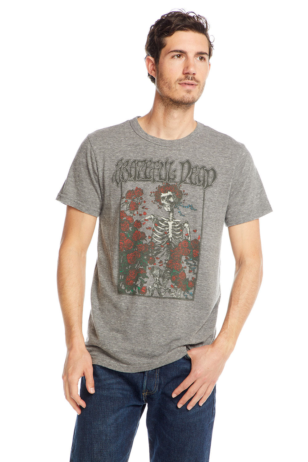 Grateful Dead - Skeleton Roses, MENS, chaserbrand.com,chaser clothing,chaser apparel,chaser los angeles