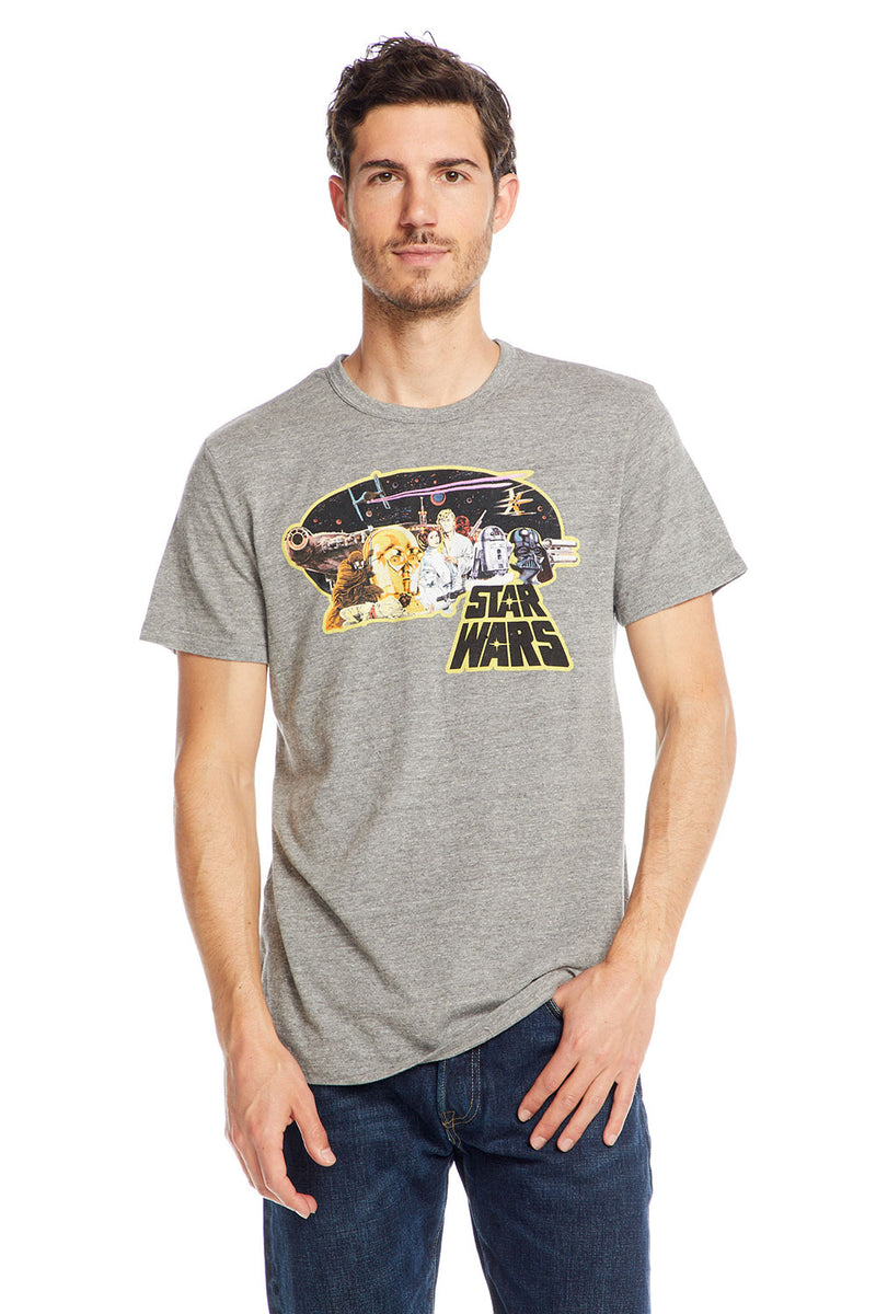 Star Wars - Star Wars Poster, MENS, chaserbrand.com,chaser clothing,chaser apparel,chaser los angeles