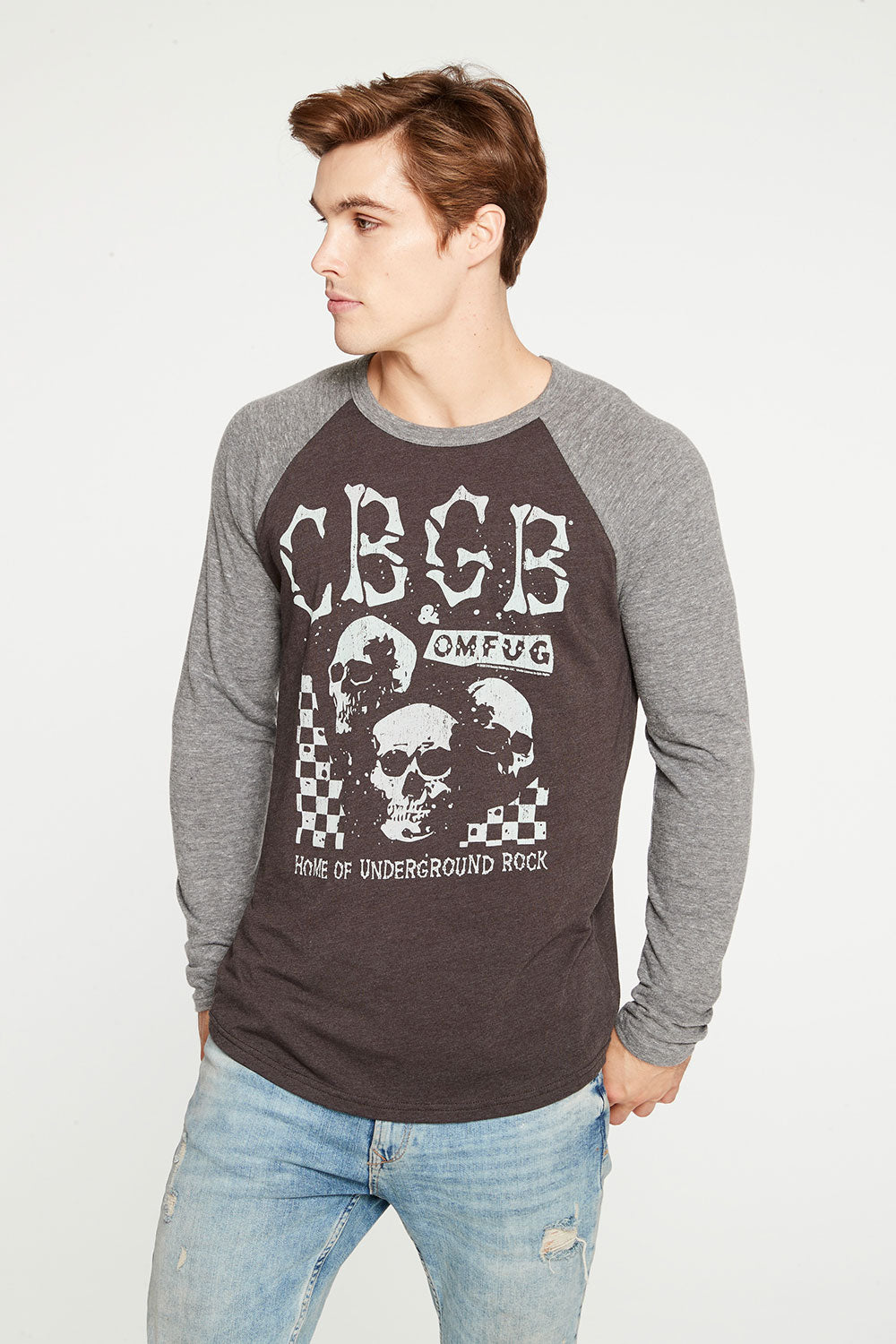CBGB - Checkered Skulls RECYCLED - chaserbrand