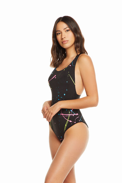 Neon Splatter, WOMENS, chaserbrand.com,chaser clothing,chaser apparel,chaser los angeles