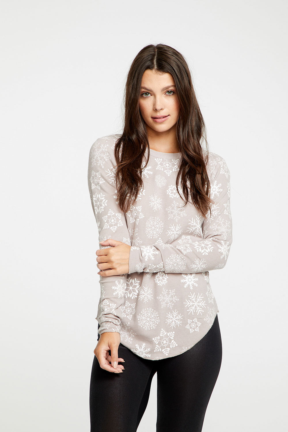 White Snowflakes WOMENS chaserbrand4.myshopify.com