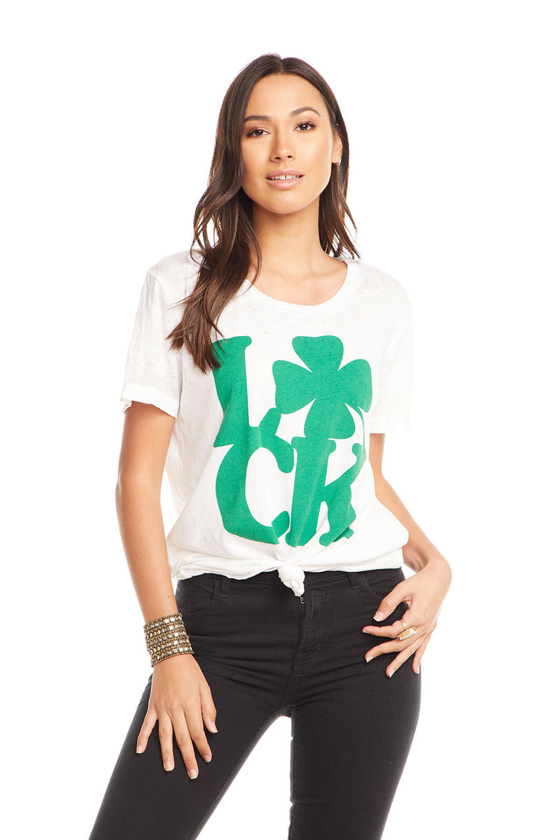 Lucky Clover, WOMENS, chaserbrand.com,chaser clothing,chaser apparel,chaser los angeles