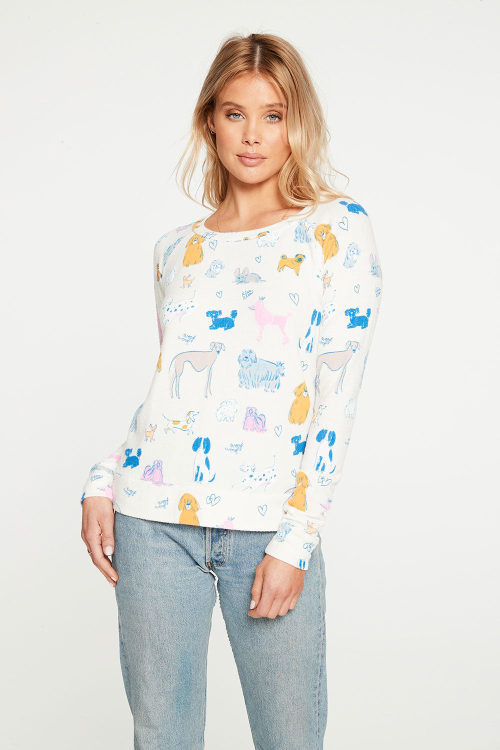 All Over Dog Charity Sweatshirt WOMENS chaserbrand4.myshopify.com