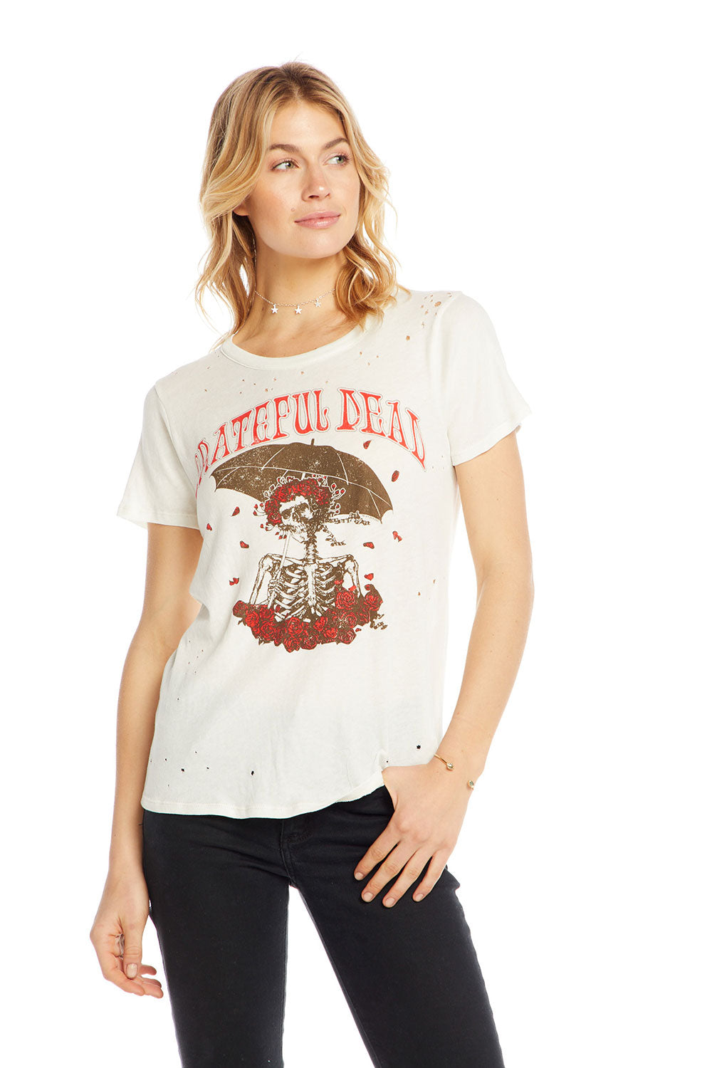 Grateful Dead - Raining Roses WOMENS chaserbrand4.myshopify.com
