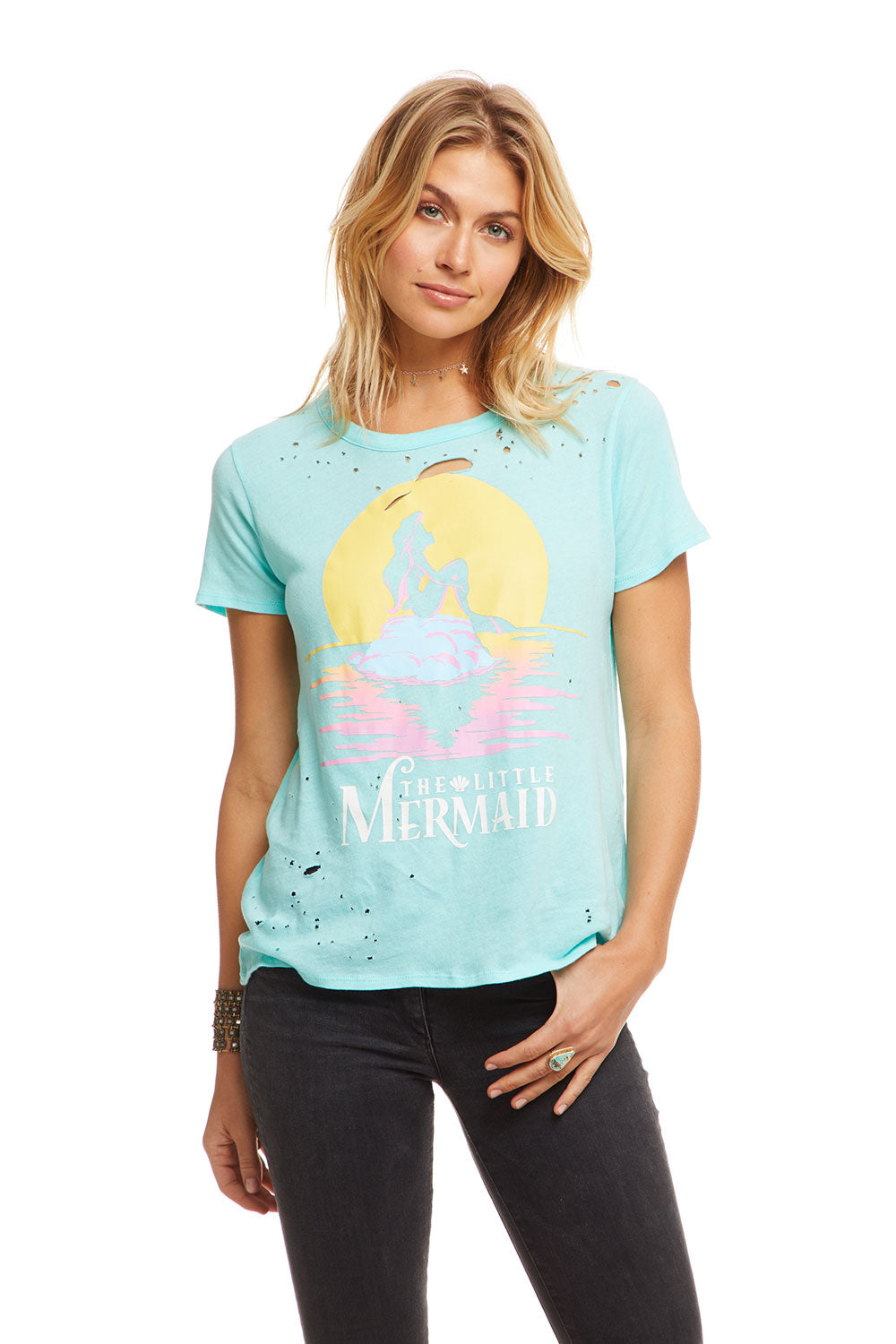 Disney's The Little Mermaid - Little Mermaid Sunset, WOMENS, chaserbrand.com,chaser clothing,chaser apparel,chaser los angeles