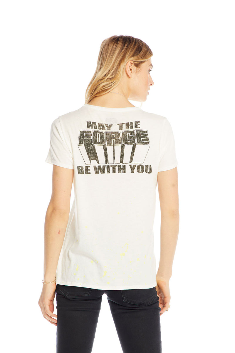 STAR WARS - STAR WARS LUKE & LEIA, WOMENS, chaserbrand.com,chaser clothing,chaser apparel,chaser los angeles