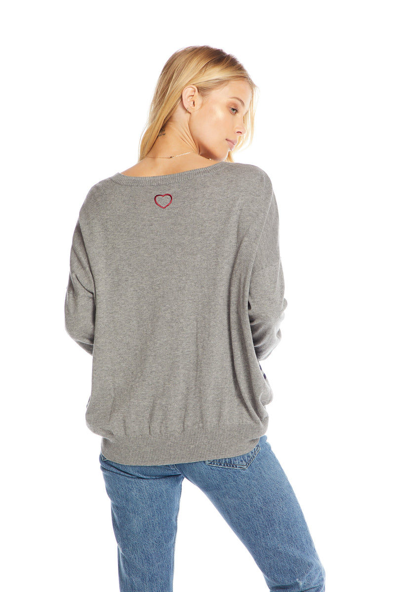 Cotton Cashmere L/S Wide Neck Dolman Pullover, WOMENS, chaserbrand.com,chaser clothing,chaser apparel,chaser los angeles