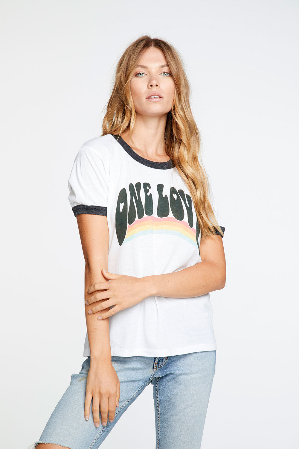 One Love Crew Neck Tee Recycled chaserbrand4.myshopify.com