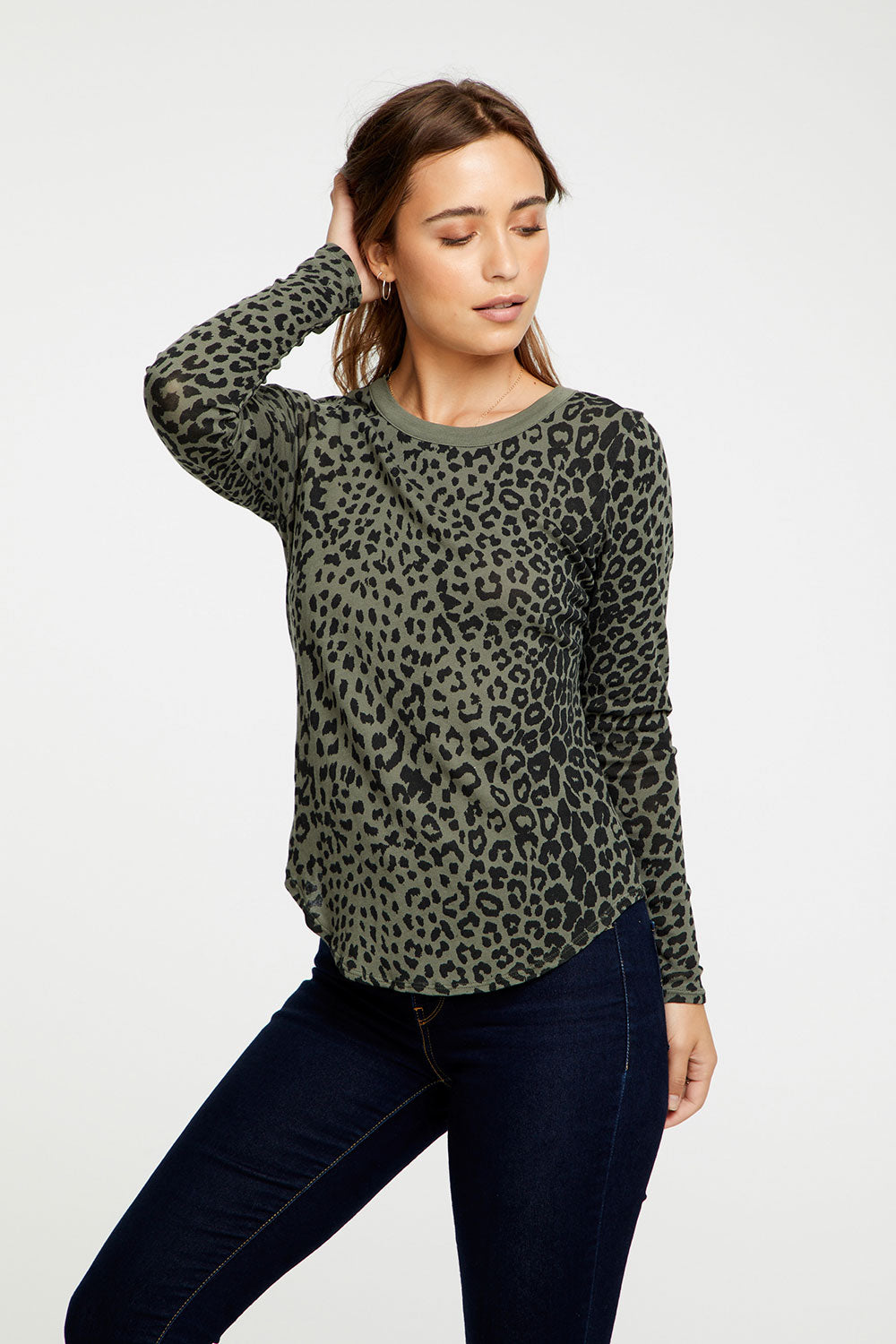 Animal Print Long Sleeve, WOMENS, chaserbrand.com,chaser clothing,chaser apparel,chaser los angeles