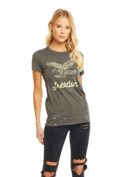 Freedom Eagle, WOMENS, chaserbrand.com,chaser clothing,chaser apparel,chaser los angeles