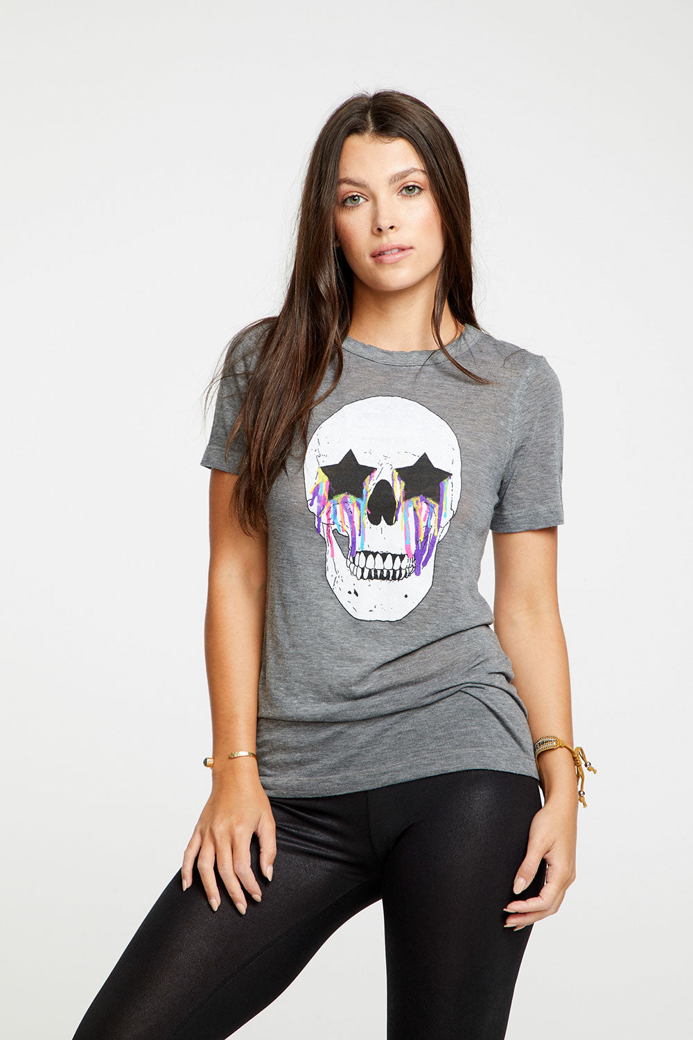 Emo Skull, WOMENS, chaserbrand.com,chaser clothing,chaser apparel,chaser los angeles