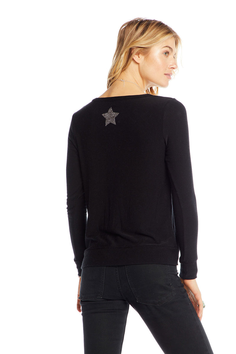 Silver Stars, WOMENS, chaserbrand.com,chaser clothing,chaser apparel,chaser los angeles
