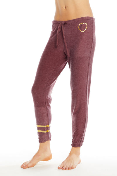 Gold Heart Pants, WOMENS, chaserbrand.com,chaser clothing,chaser apparel,chaser los angeles