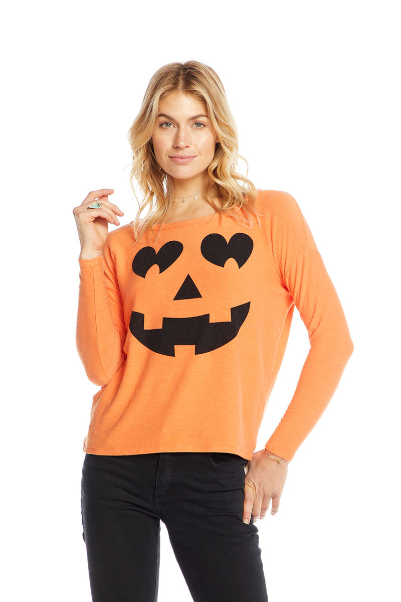Pumpkin Face, WOMENS, chaserbrand.com,chaser clothing,chaser apparel,chaser los angeles
