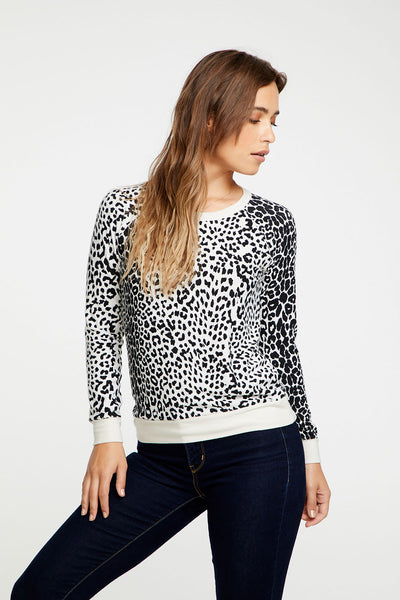 Animal Print Pullover Long Sleeve WOMENS chaserbrand4.myshopify.com