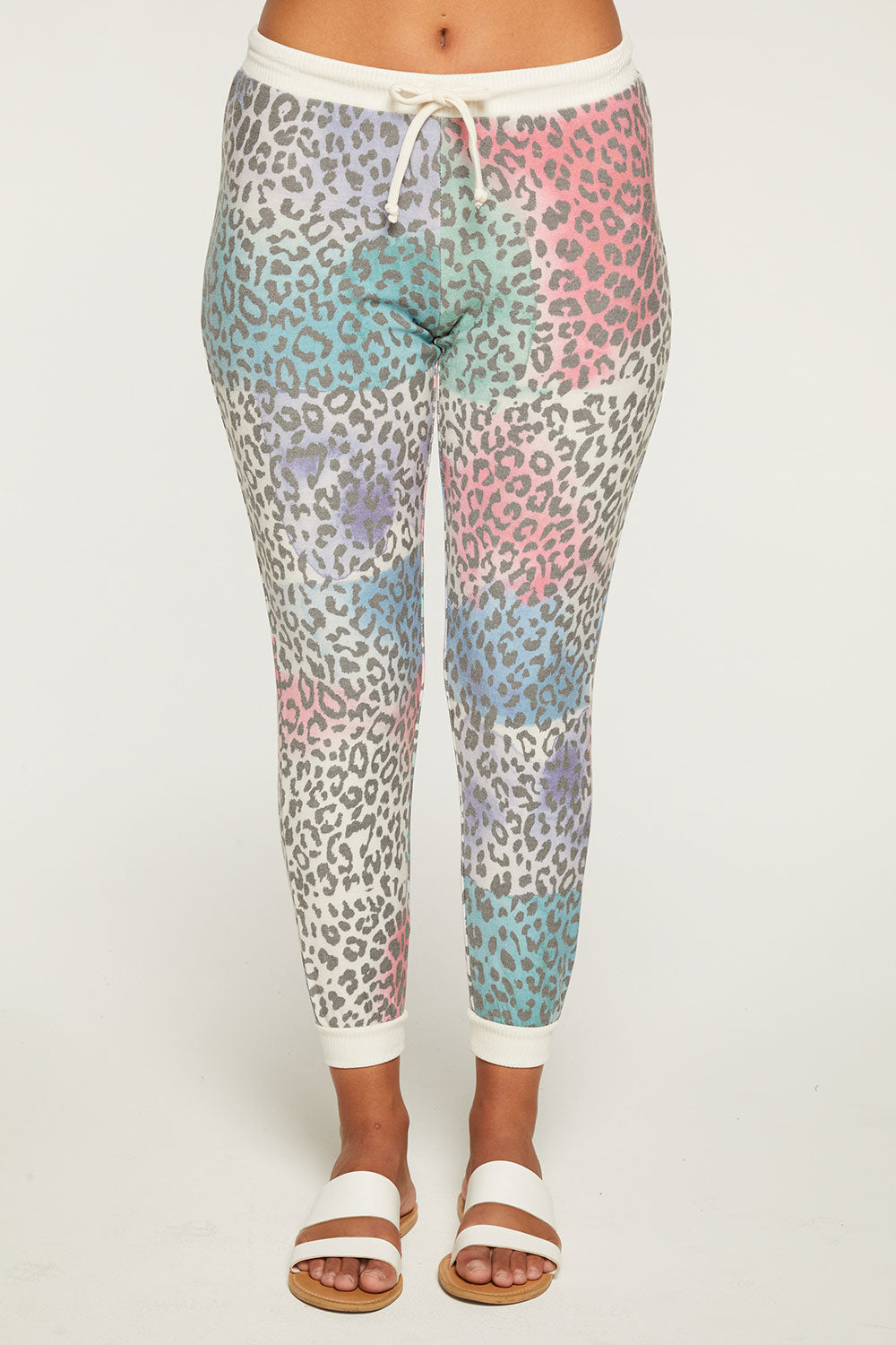 Painted Leopard Pants WOMENS chaserbrand4.myshopify.com