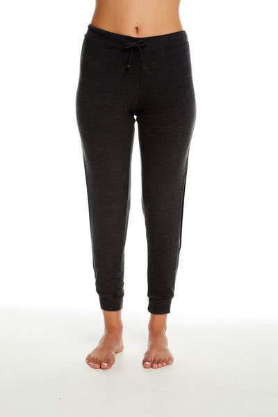 COZY KNIT OPEN VENT JOGGER, WOMENS, chaserbrand.com,chaser clothing,chaser apparel,chaser los angeles