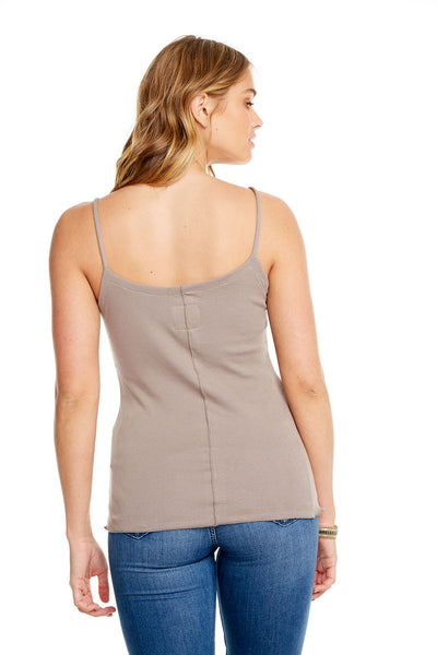 BABY RIB BUTTON DOWN CAMI WOMENS chaserbrand4.myshopify.com