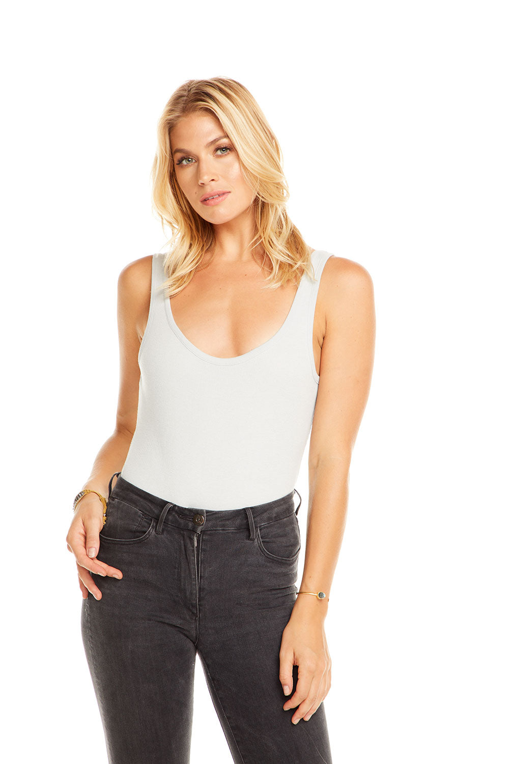 Scoop Neck Bodysuit WOMENS chaserbrand4.myshopify.com