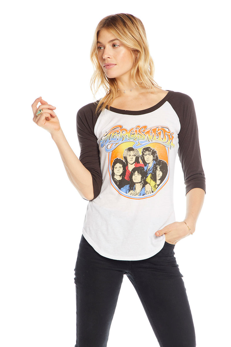 Aerosmith - Aerosmith Classic Band, WOMENS, chaserbrand.com,chaser clothing,chaser apparel,chaser los angeles