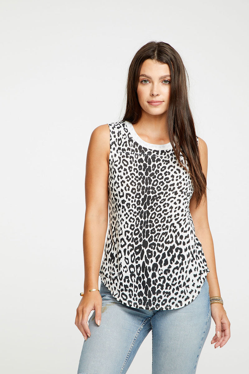 Animal Print Tank, WOMENS, chaserbrand.com,chaser clothing,chaser apparel,chaser los angeles