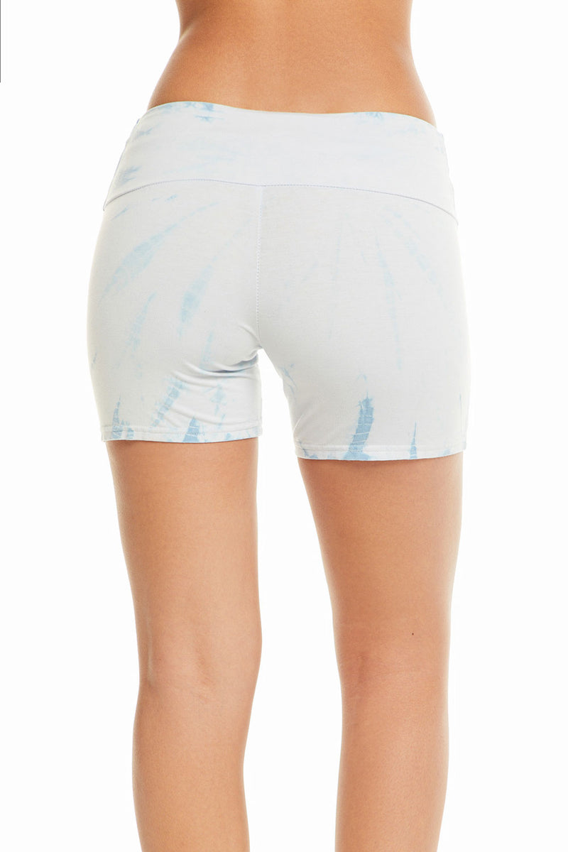Quadrablend Overlap Waistband Active Shorts, WOMENS, chaserbrand.com,chaser clothing,chaser apparel,chaser los angeles