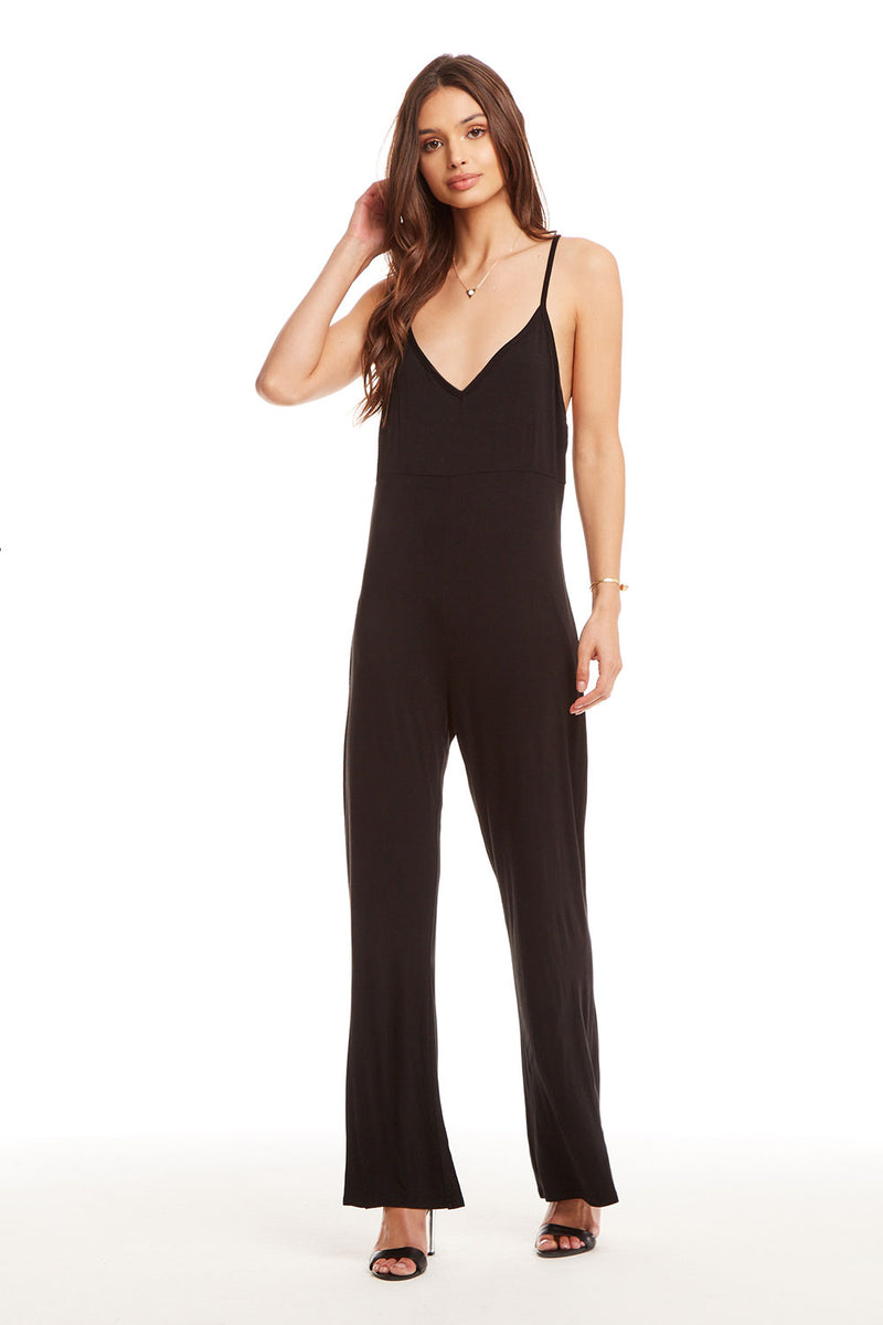 Cool Jersey Racer Back Jumpsuit, WOMENS, chaserbrand.com,chaser clothing,chaser apparel,chaser los angeles