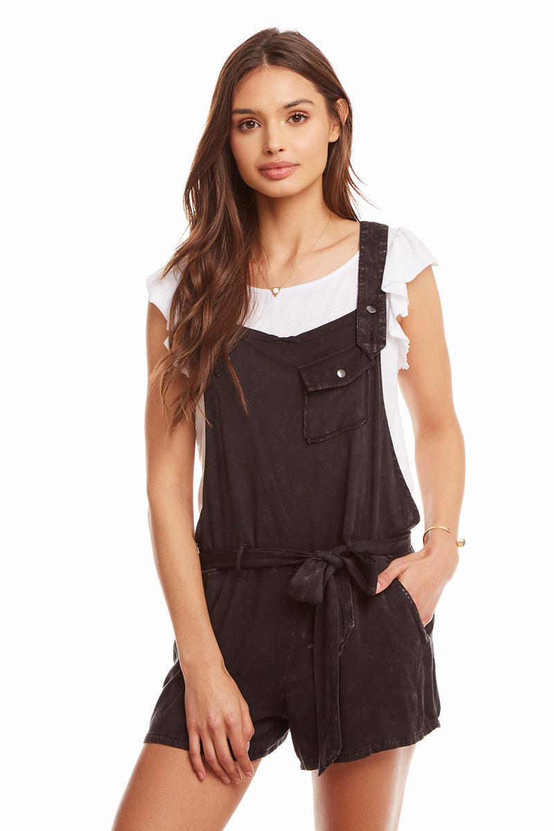 Heirloom Wovens Flouncy Shortalls W Tie WOMENS chaserbrand4.myshopify.com