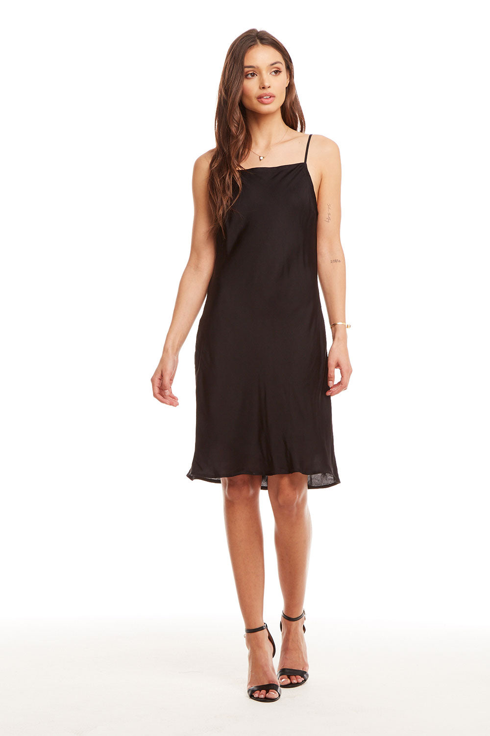 Silky Basics Deep Scoop Back Midi Slip Dress WOMENS chaserbrand4.myshopify.com