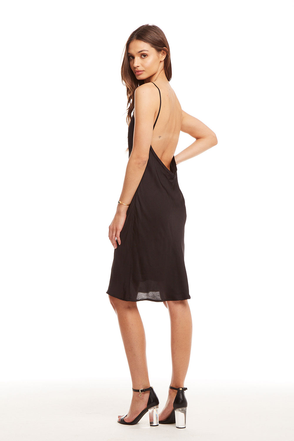 c80b7505865f Silky Basics Deep Scoop Back Midi Slip Dress, WOMENS, chaserbrand.com,chaser