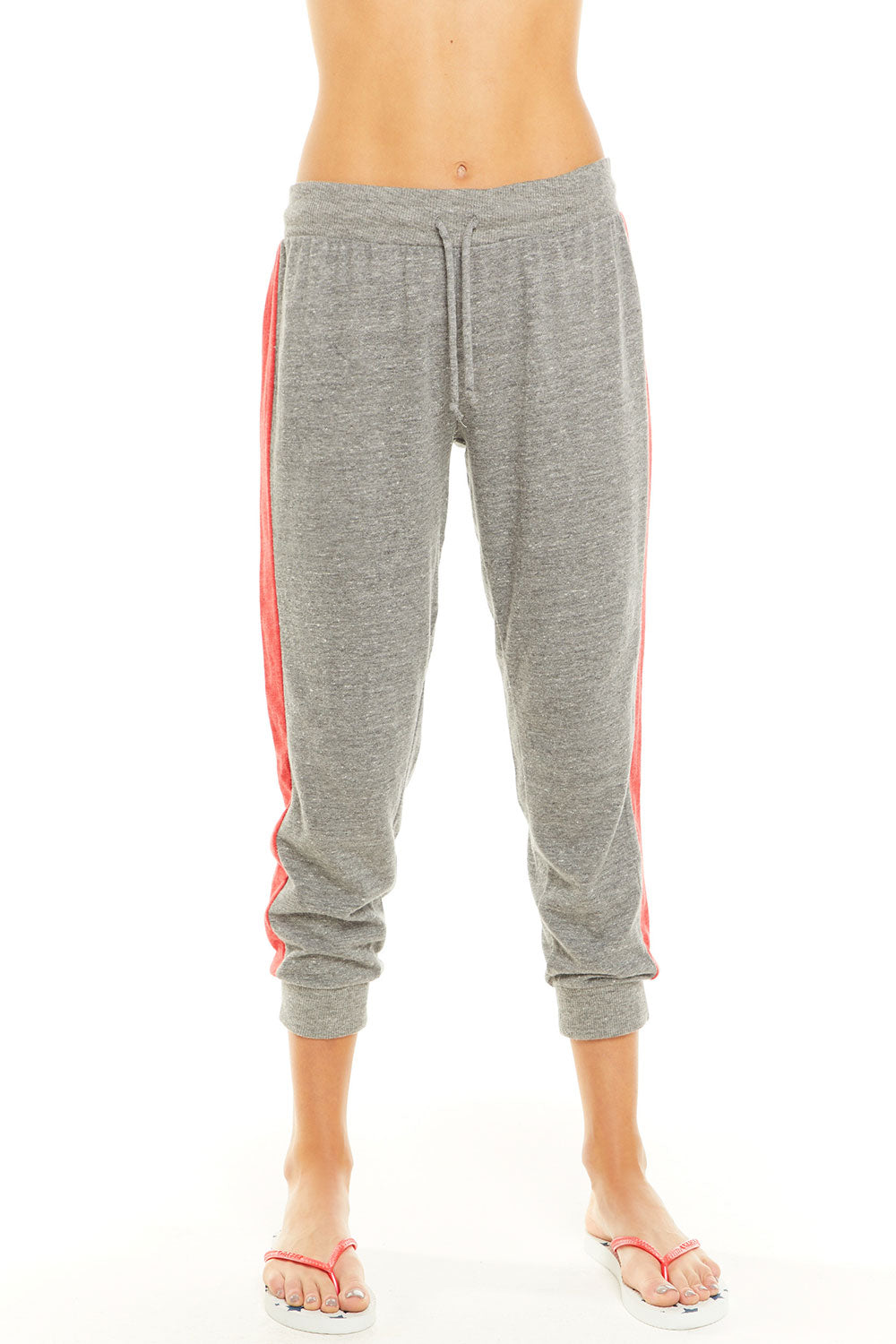 Blocked Jersey Cropped Track Jogger, WOMENS, chaserbrand.com,chaser clothing,chaser apparel,chaser los angeles
