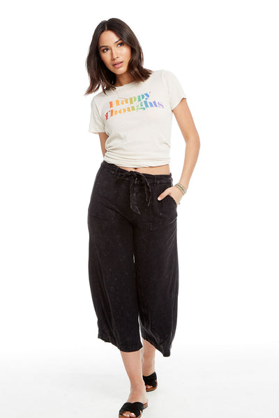 Heirloom Wovens Tie Waist Culottes, WOMENS, chaserbrand.com,chaser clothing,chaser apparel,chaser los angeles