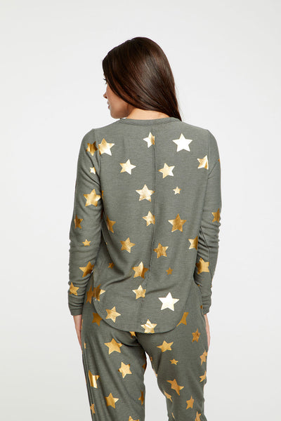 Gold Stars WOMENS chaserbrand4.myshopify.com