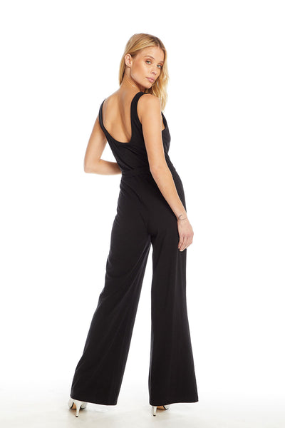 Quadrablend Scoop Back Tie Waist Wide Leg Jumpsuit WOMENS chaserbrand4.myshopify.com