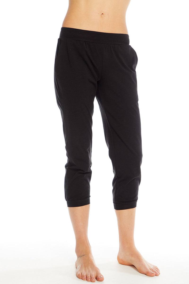 Quadrablend Slouchy Lounge Cropped Jogger, WOMENS, chaserbrand.com,chaser clothing,chaser apparel,chaser los angeles