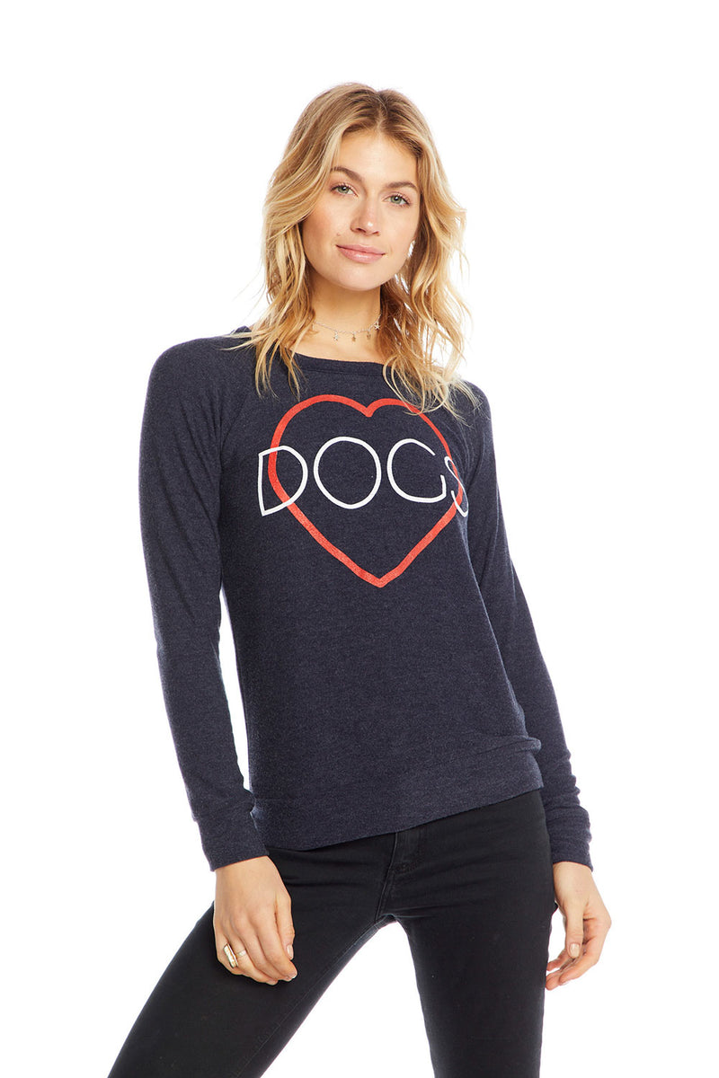 Heart Dogs, WOMENS, chaserbrand.com,chaser clothing,chaser apparel,chaser los angeles