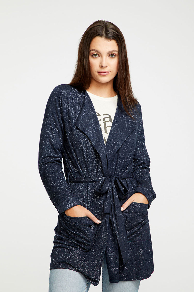 Diamond Jersey Belted Robe WOMENS chaserbrand4.myshopify.com
