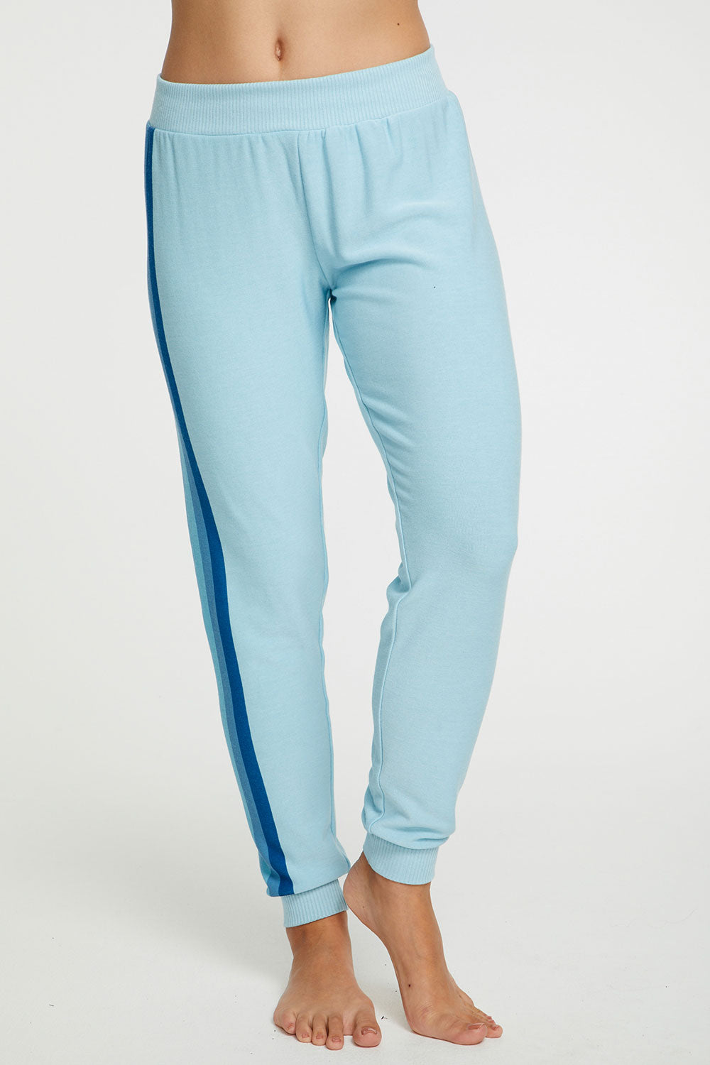 Blue Stripes Pant WOMENS chaserbrand4.myshopify.com