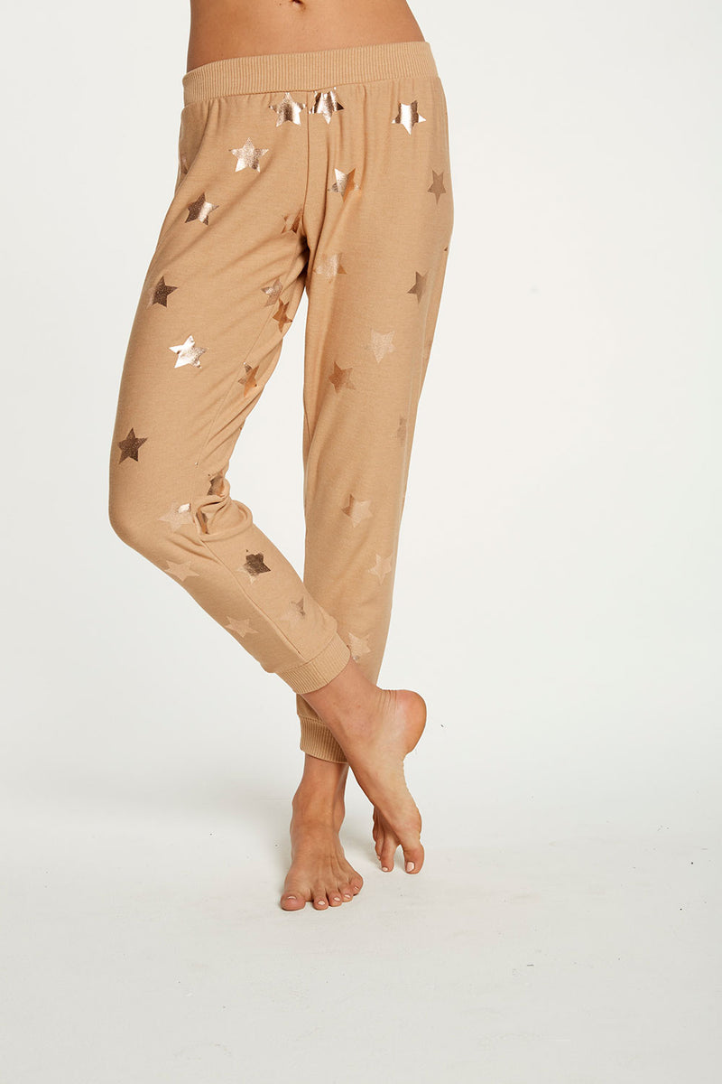 Rose Gold Star Pants