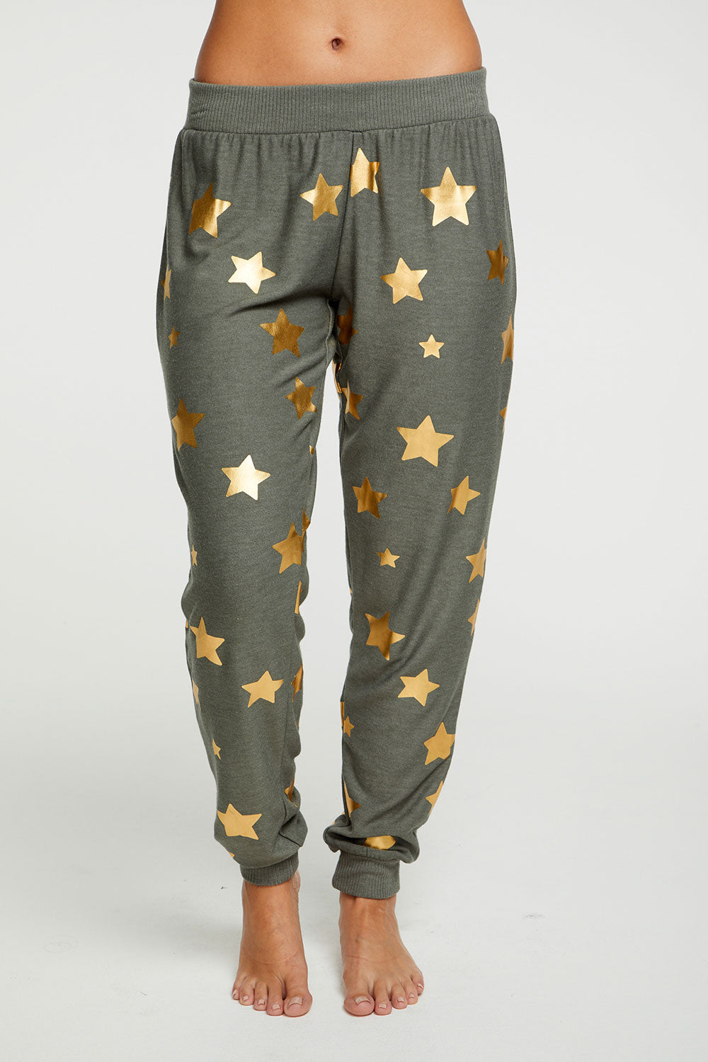 Gold Star Pants, WOMENS, chaserbrand.com,chaser clothing,chaser apparel,chaser los angeles