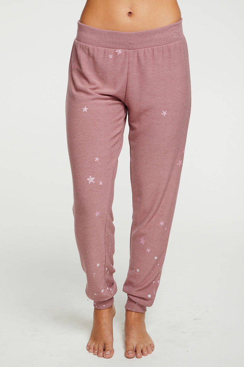 Pinky Star Pants WOMENS chaserbrand4.myshopify.com