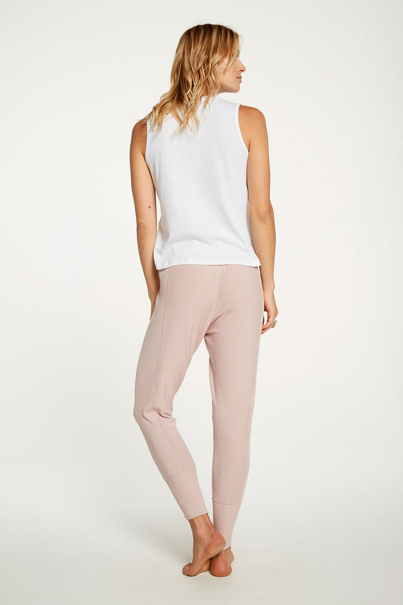 Cozy Knit Cuffed Lounge Pant WOMENS chaserbrand4.myshopify.com