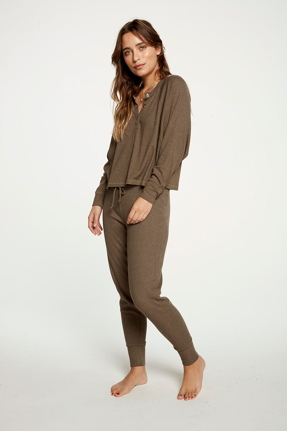 Cozy Rib Slouchy Lounge Pant WOMENS chaserbrand4.myshopify.com