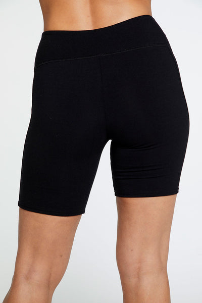 Quadrablend Seamed Bike Shorts in True Black WOMENS chaserbrand4.myshopify.com